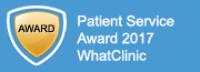 Awarded by WhatClinic.com